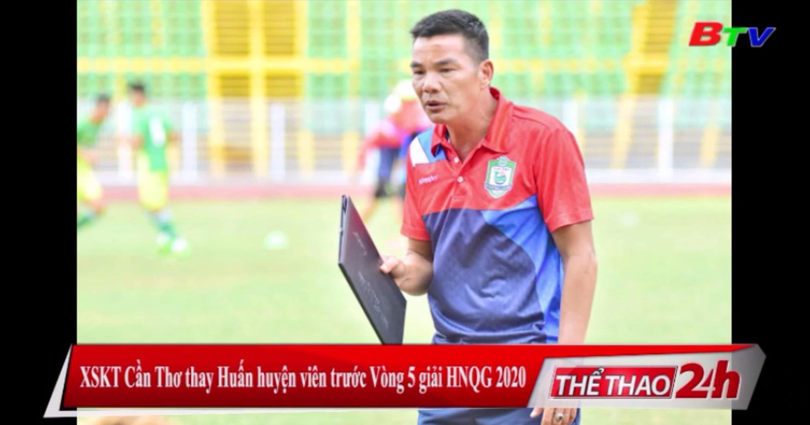 XSKT Cần Thơ thay Huấn luyện viên trước Vòng 5 giải HNQG 2020