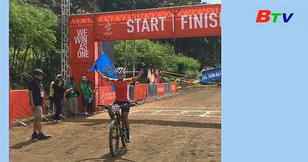 Gặp gỡ nữ Cua-rơ Đinh Thị Như Quỳnh - Huy chương vàng SEA Games nội dung xe đạp địa hình