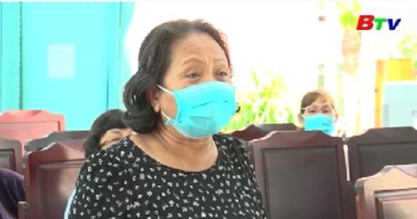 Đại biểu HĐND tỉnh, Tp.Thủ Dầu Một tiếp xúc cử tri phường Phú Mỹ , Phú Tân