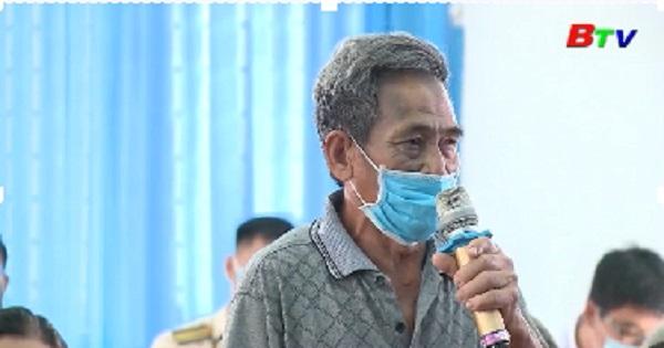 Đại biểu HĐND tỉnh, Tp.Thủ Dầu Một tiếp xúc cử tri phường Tân An