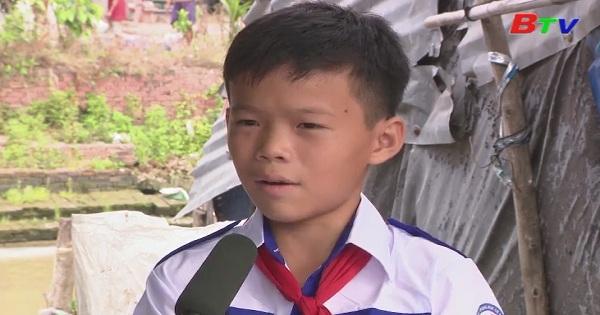 Thắp sáng ước mơ xanh - Em Trần Minh Quý, lớp 6A4, trường THCS An Châu, huyện Châu Thành, tỉnh An Giang