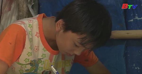 Thắp sáng ước mơ xanh - Em Lê Văn Hậu, lớp 8A2, trường tiểu học và THCS Tam Lập, Phú Giáo, Bình Dương