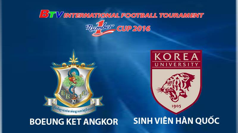 Highlight trận Boeung Ket Ankor FC vs Korea UST