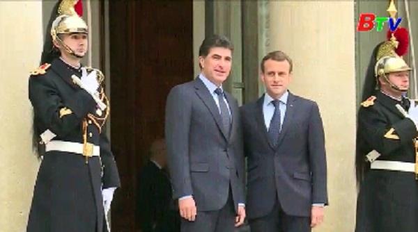 Tổng thống Pháp kêu gọi người Kurd và người Iraq đối thoại