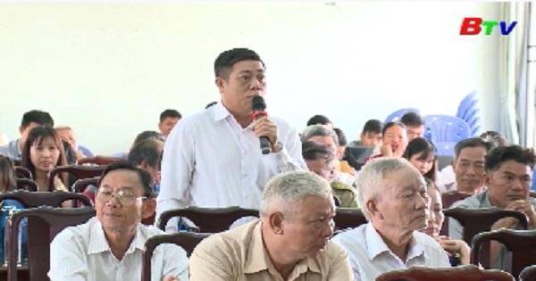 Đại biểu Quốc hội tỉnh Bình Dương tiếp xúc cử tri An Phú, Bình Chuẩn, Tx.Thuận An