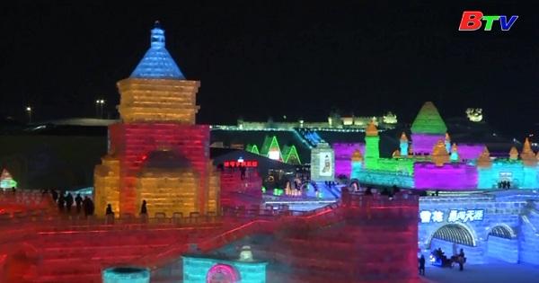 Khai mạc lễ hội băng đăng Cáp Nhĩ Tân