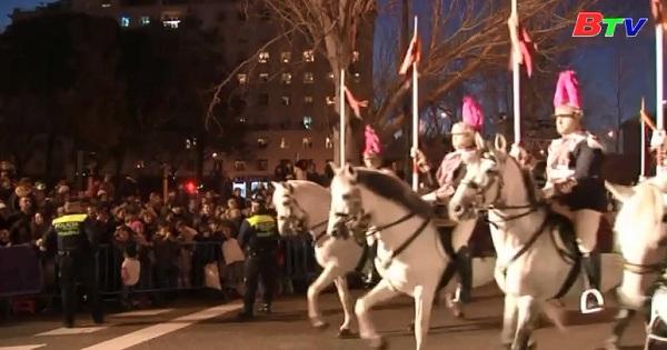 Rộn ràng ngày lễ Ba vua tại Tây Ban Nha