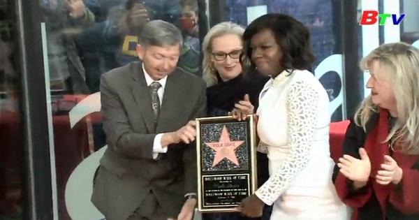 Viola Davis nhận sao trên đại lộ danh vọng