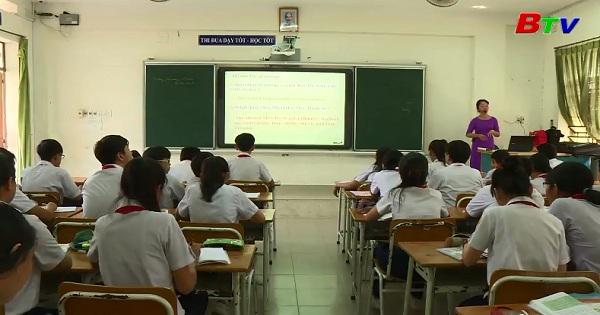 Dạy và hướng dẫn ôn thi ở trường THCS Nguyễn Viết Xuân