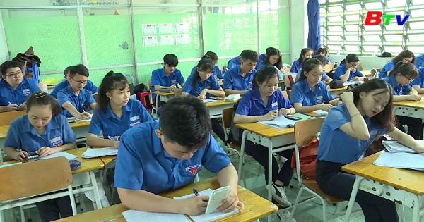 Trường PTTH Võ Minh Đức ôn tập chuẩn bị cho kỳ thi THPT  Quốc gia 2019