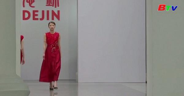 Tuần lễ thời trang Trung Quốc phát sóng trực tuyến