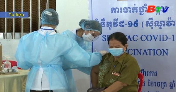 Campuchia lại ghi nhận số ca mắc mới ở mức cao