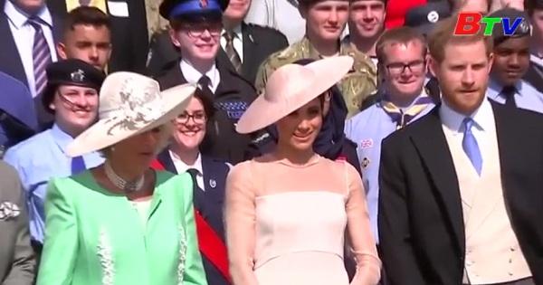 Công nương xứ Sussex ở Anh - Meghan Markle  được bình chọn là người phụ nữ đẹp nhất năm 2018
