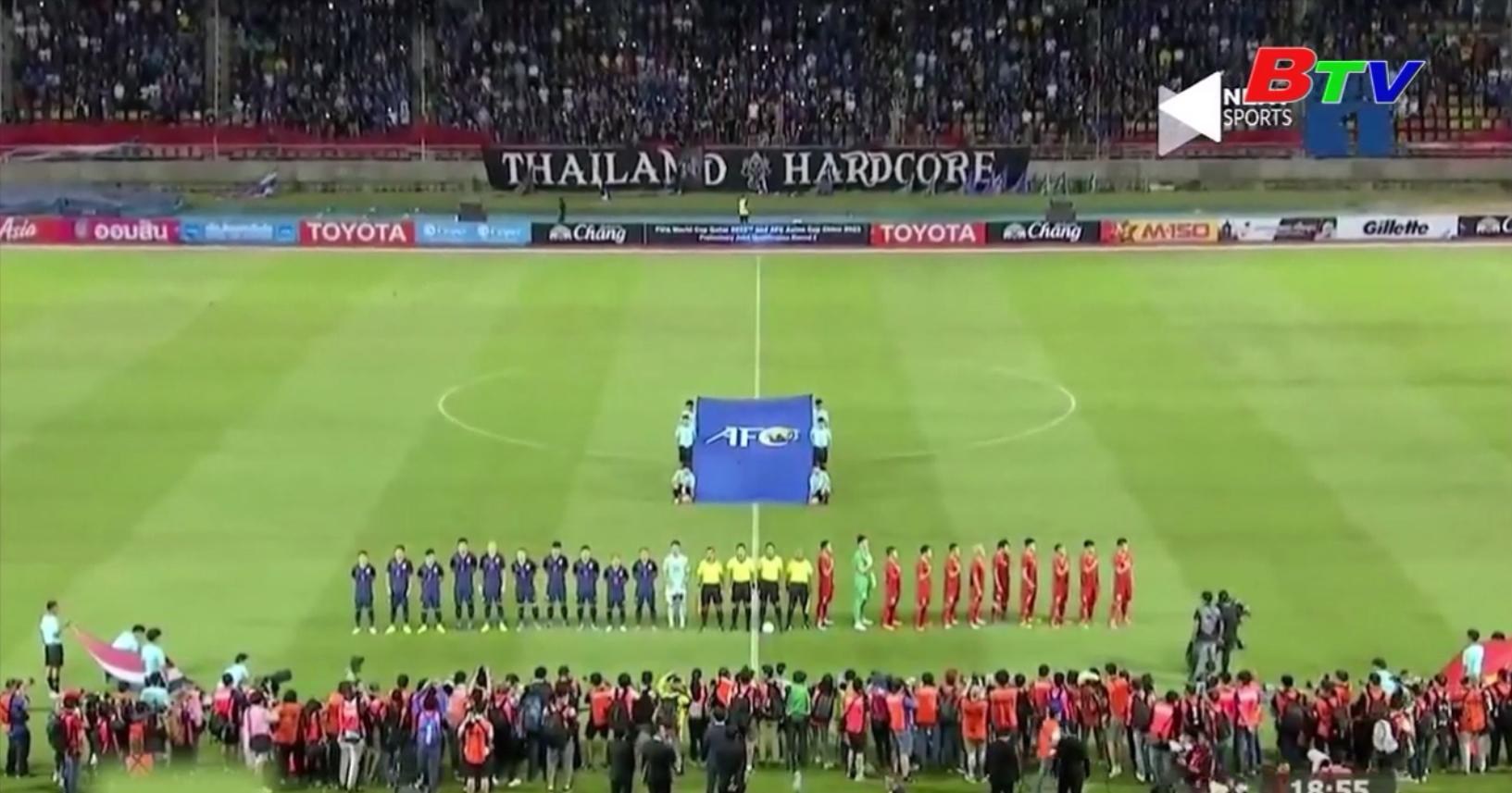 Việt Nam chia điểm Thái Lan ở vòng loại World Cup 2022