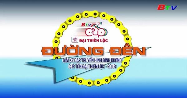 Các VĐV chuẩn bị chặng 6 Giải xe đạp THBD lần V/2018 - Cúp Tôn Đại Thiên Lộc