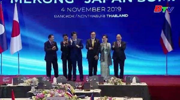 Thủ tướng Nguyễn Xuân Phúc dự Hội nghị Cấp cao Mekong–Nhật Bản