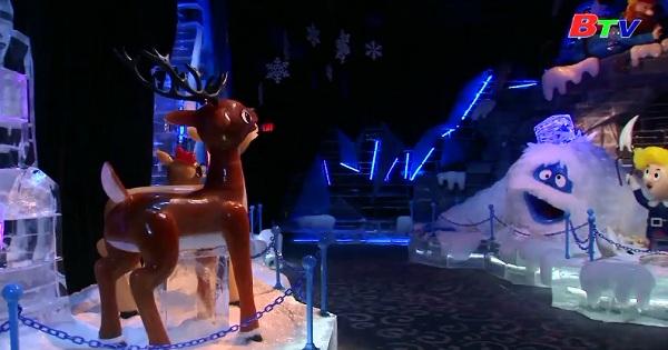 Thế giới thần tiên mùa đông băng tuyết tại khách sạn  Gaylord