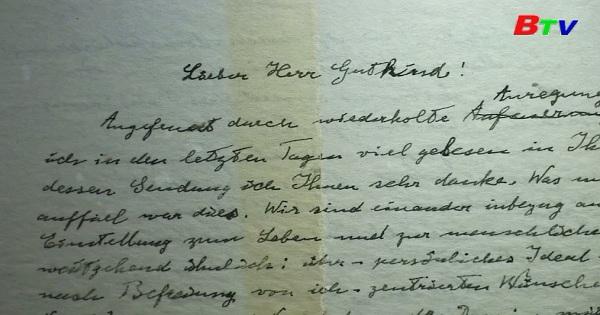 Bức thư về tôn giáo của Einstein được bán đấu giá 3 triệu USD
