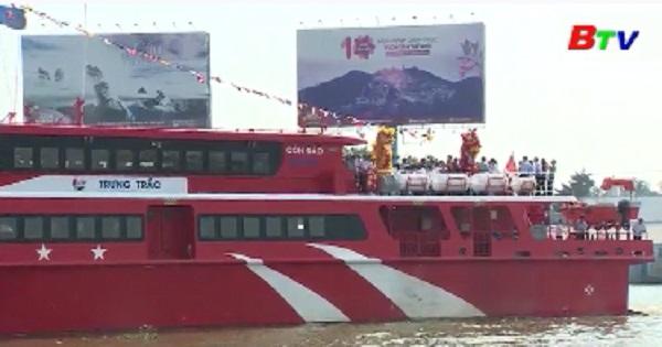 Khai trương tuyến giao thông Cần Thơ - Sóc Trăng - Côn Đảo bằng tàu cao tốc hai thân