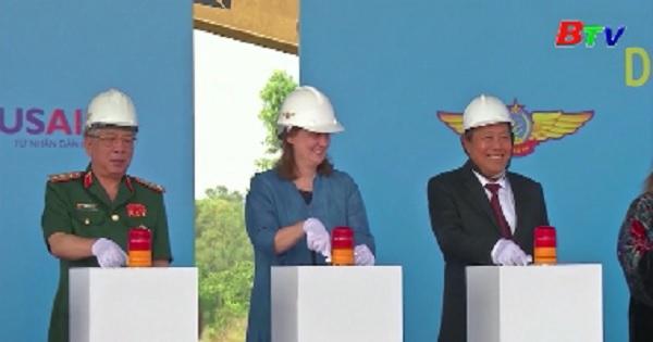 Khởi công dự án xử lý nhiễm Dioxin sân bay Biện Hòa, Đồng Nai