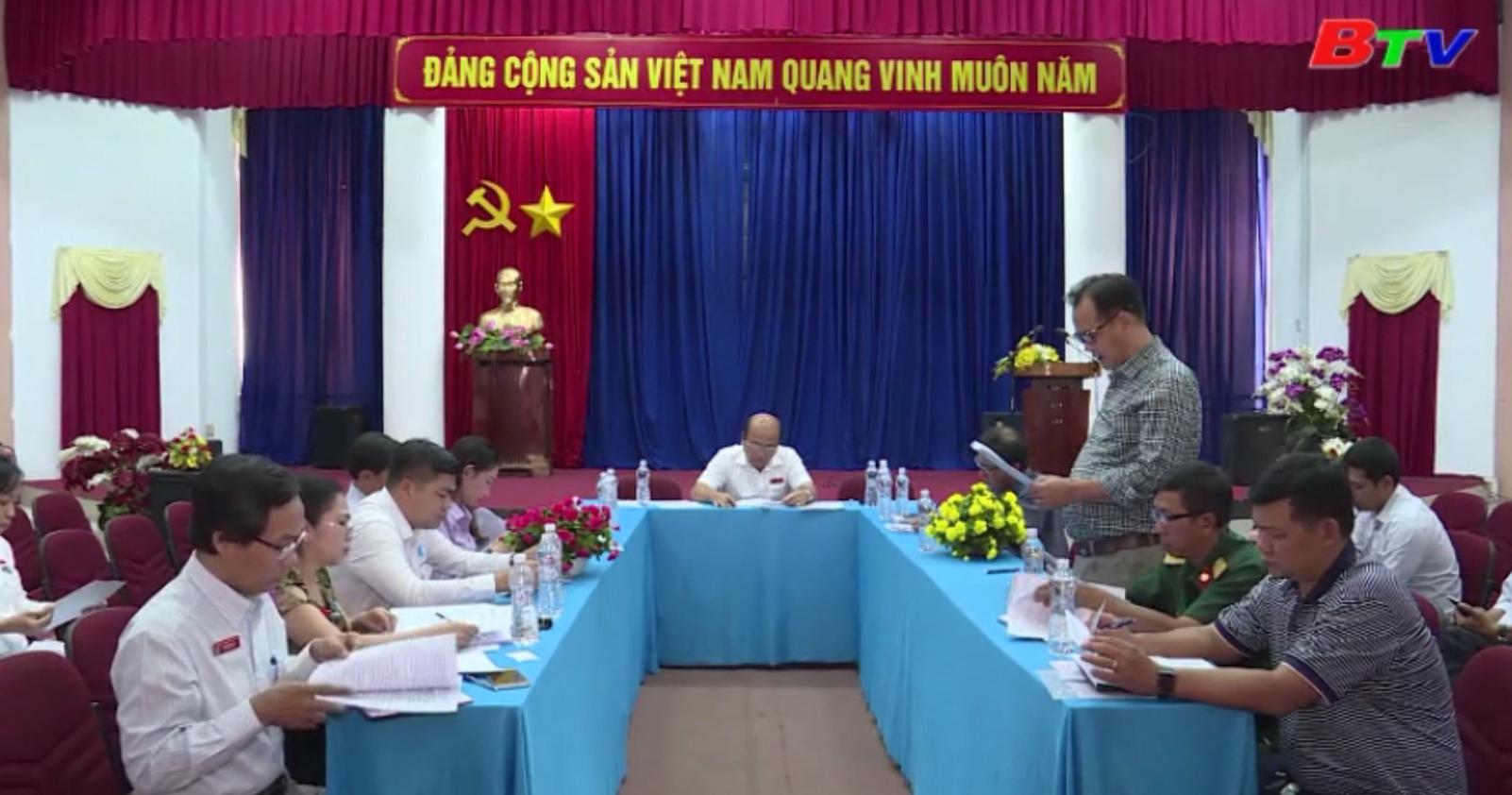 Họp triển khai kế hoạch tổ chức Giải Việt dã Chào năm mới BTV - Number 1 lần thứ XXI năm 2020