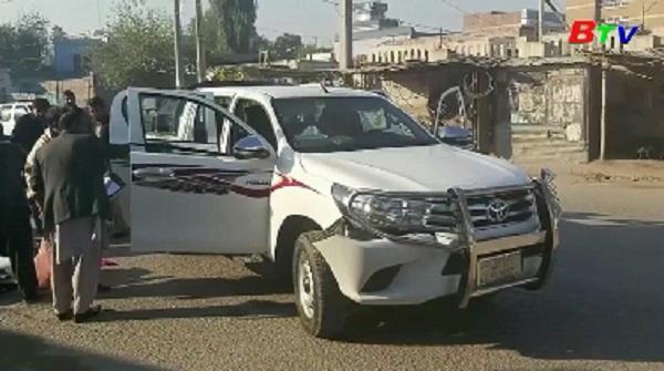 Xe chở nhân viên cứu trợ Nhật Bản bị tấn công tại Afghanistan