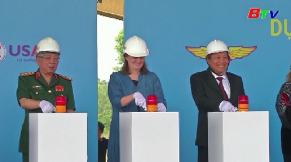 Chính thức khởi công Dự án xử lý dioxin tại Sân bay Biên Hòa