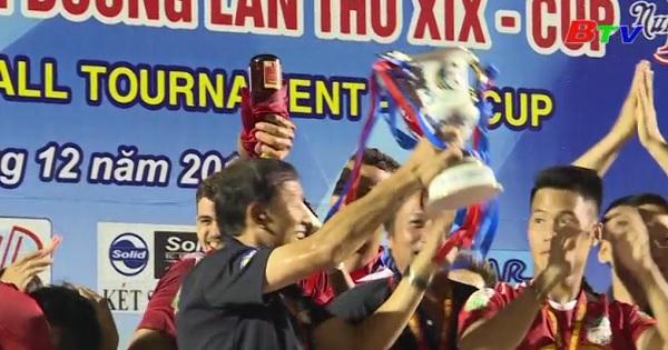 Giải Bóng đá Quốc tế THBD-Cúp Number 1 qua 19 mùa tổ chức