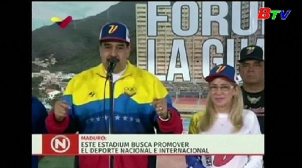 Tổng thống Venezuela công nhận kết quả bầu lãnh đạo Quốc hội mới
