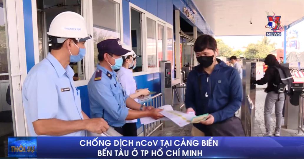 Chống dịch nCoV tại cảng biển, bến tàu ở TP Hồ Chí Minh
