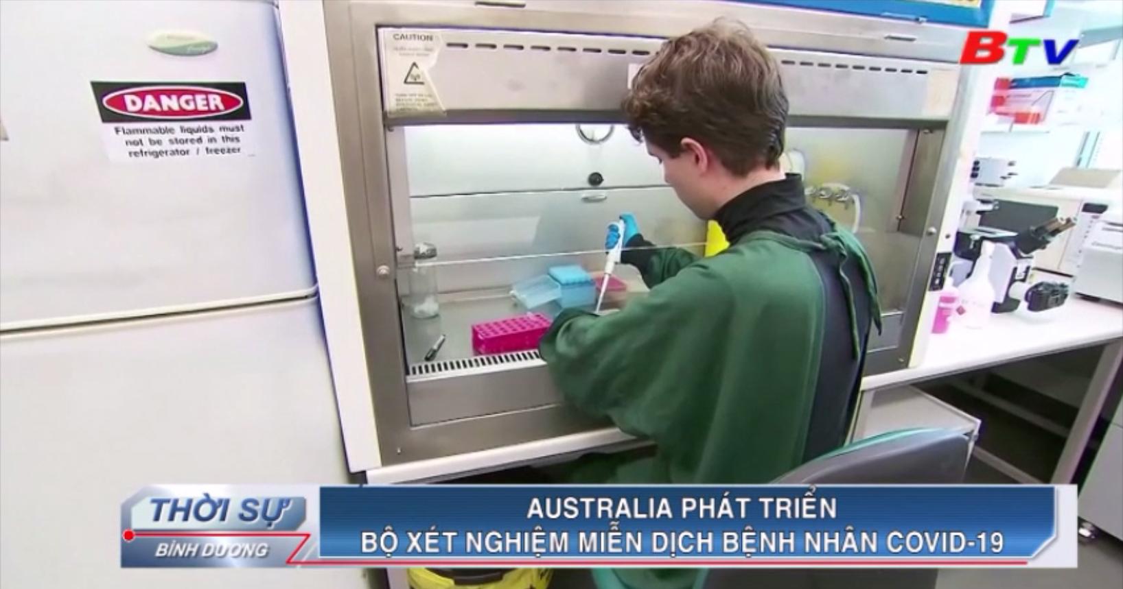 Australia phát triển bộ xét nghiệm miễn dịch bệnh nhân Covid-19
