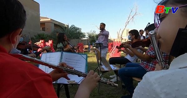 Iraq - Dàn nhạc giao hưởng trẻ em đưa âm nhạc hàn lâm đến cuộc sống đời thường