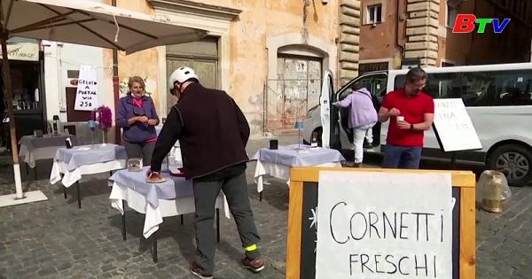 Người Italy lại được uống Cappucino và ăn bánh Cornetto