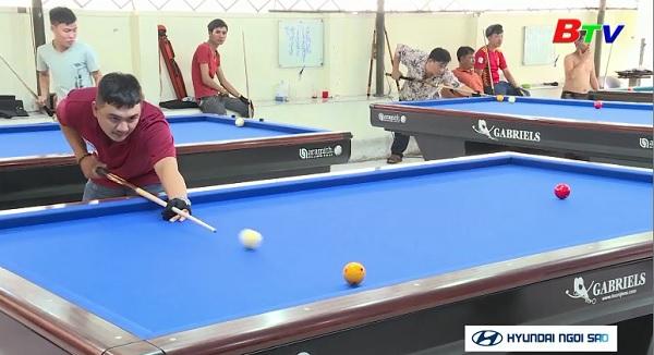 Đội bida Bình Dương tự tin trước giải đấu quốc tế
