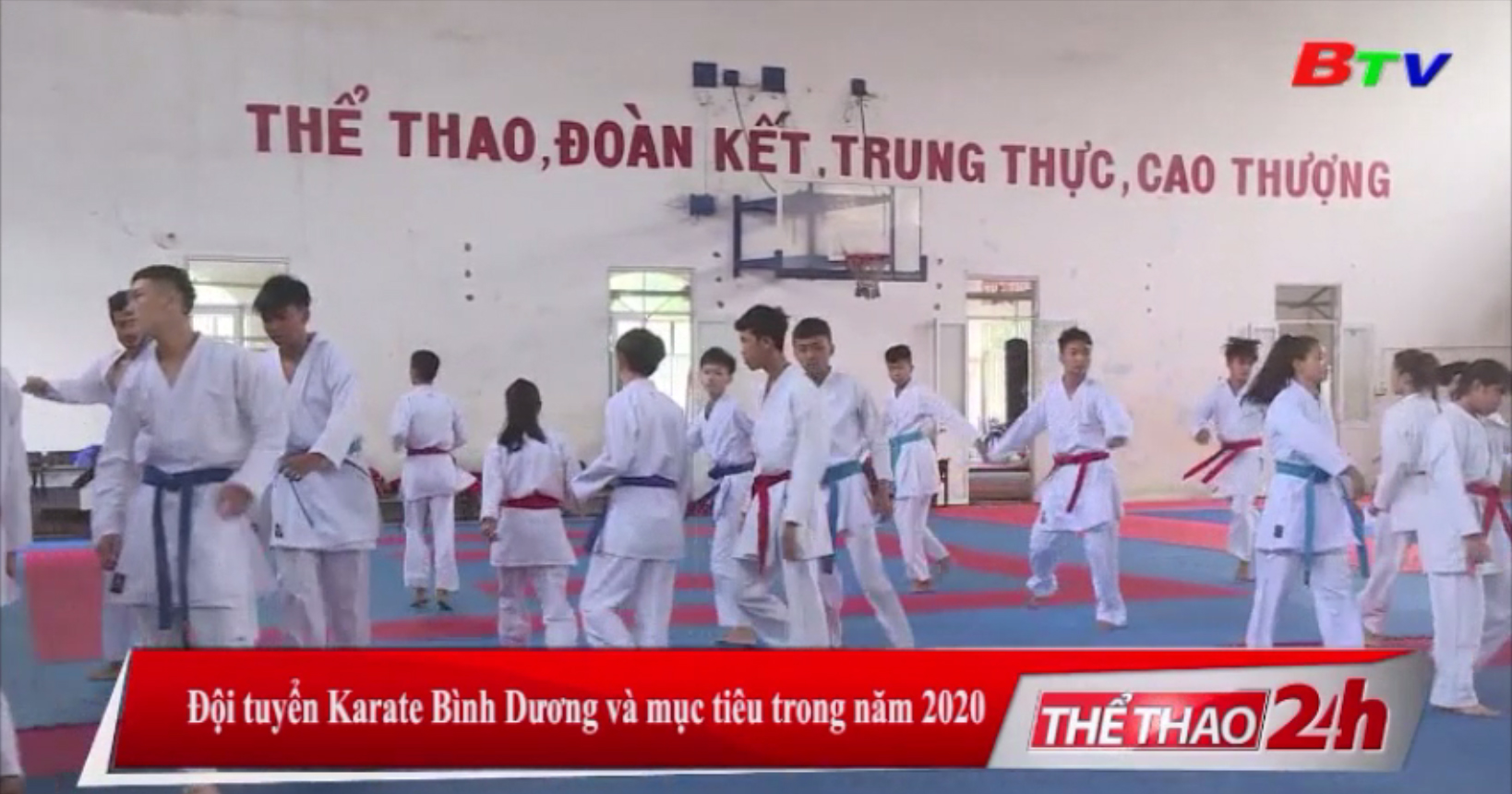 Đội tuyển Karate Bình Dương và mục tiêu trong năm 2020