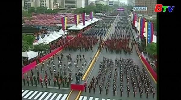 Venezuela - Tổng thống Maduro an toàn sau vụ tấn công