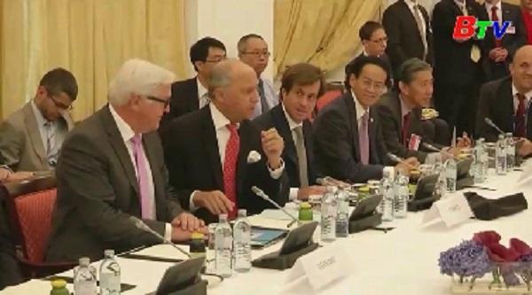 Các nước châu Âu cam kết duy trì quan hệ kinh tế với Iran