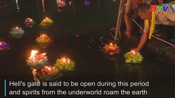 Đài Loan - Thả đèn hoa đăng cầu nguyện cho linh hồn người đã khuất