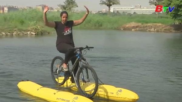 Ai Cập - Chia sẻ niềm vui với ý tưởng kinh doanh cho thuê xe đạp nước