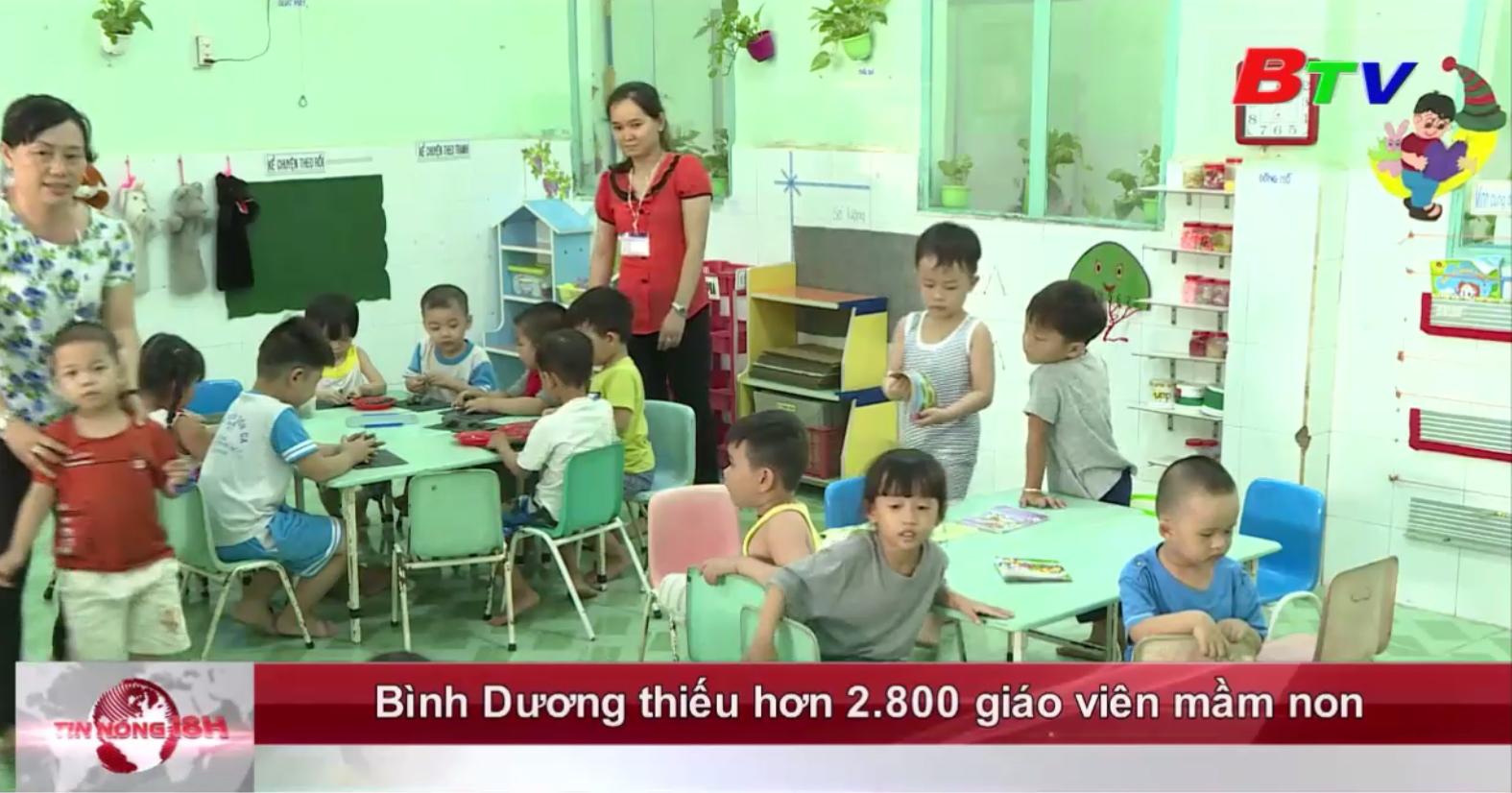 Bình Dương thiếu hơn 2.800 giáo viên mầm non