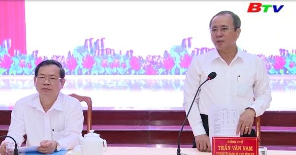 Đảng bộ thị xã Tân Uyên triển khai nhiệm vụ sau đại hội