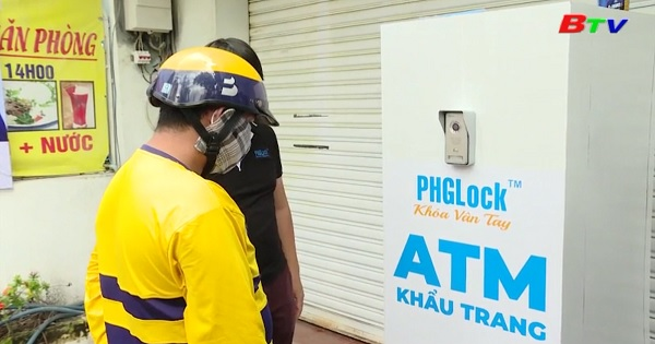 Cây ATM khẩu trang cho người nghèo