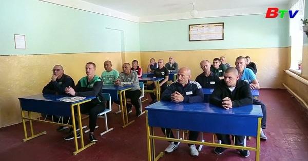 Lớp học dành cho các tù nhân ở Ukraine