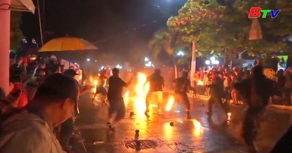 Độc đáo lễ hội ném cầu lửa ở EL Salvador