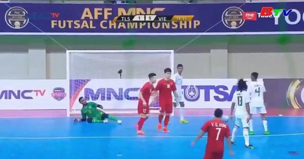 Futsal Việt Nam đánh bại Futsal Đông Timor