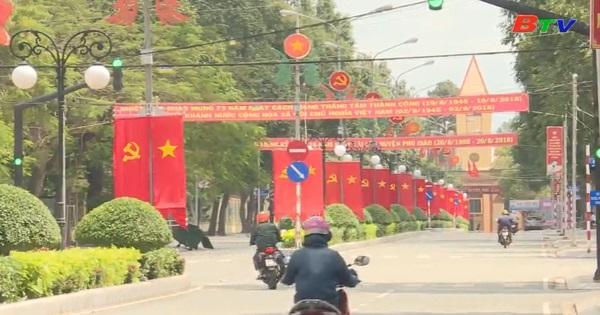 Phú Giáo chỉnh trang đô thị chào đón năm mới 2019