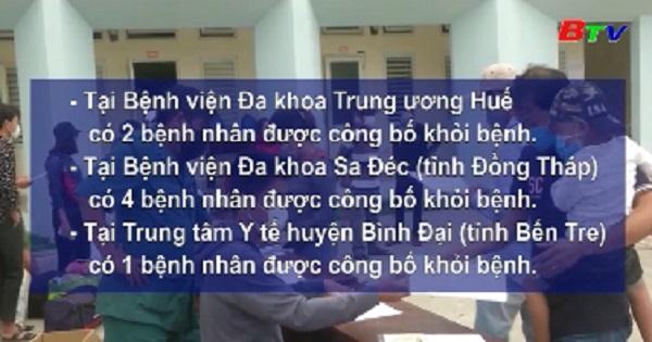Thêm 27 bệnh nhân COVID-19 tại Việt Nam khỏi bệnh