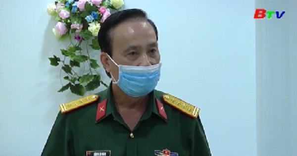 Doanh nghiệp tặng dược phẩm phòng chống dịch COVID-19 cho Quân đoàn 4