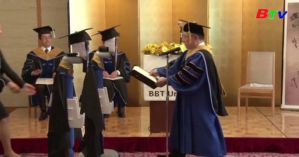 Khác lạ lễ tốt nghiệp Đại học Online ở Nhật Bản