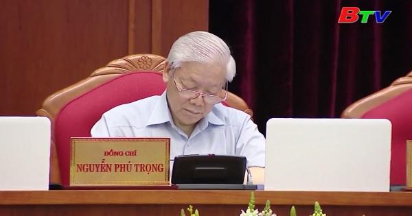 Hội nghị Trung ương 7 khóa XII thảo luận về công tác cán bộ